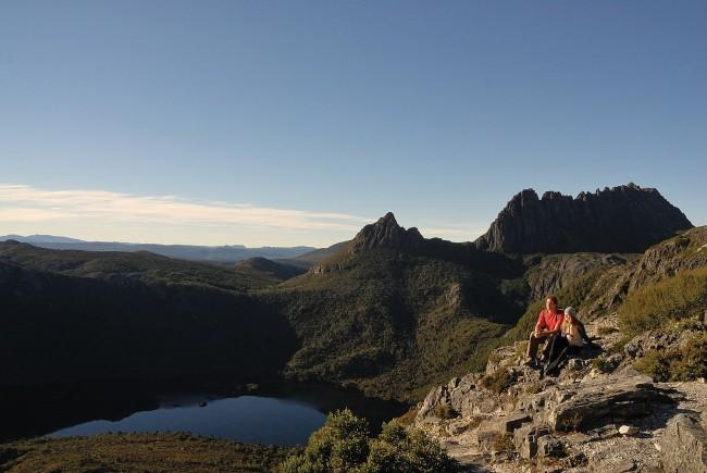 Dove Lake and Cradle Mountain