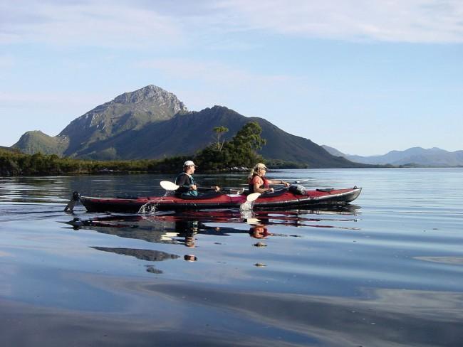 Roaring 40s Ocean Kayaking Bathurst Harbour