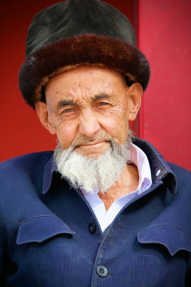Scene from a Bazar near Kashgar @ Emanuel Luttersdorfer