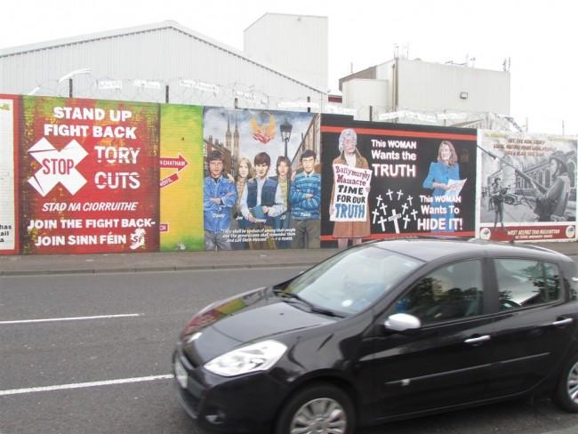 Murals and Grafitti in Belfast