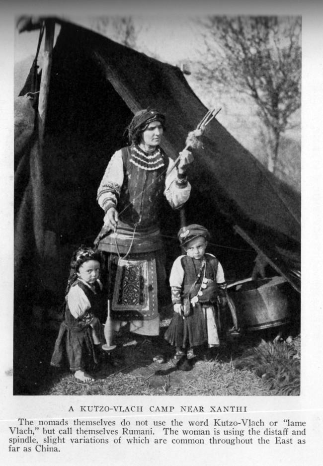 Rumani woman, Greece, 1930