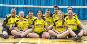 Manchester Marvels sitting volleyball team