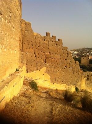 Medina's crumbling outer walls