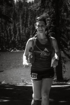 Runner at Charlton Lake