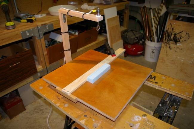 Introducing - My Styrofoam Hot Wire Cutter.
