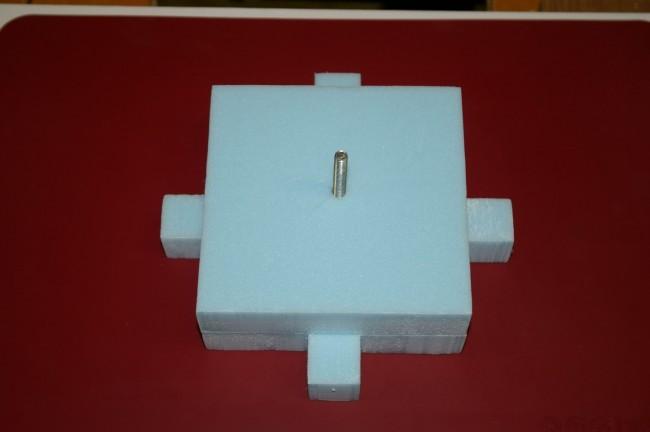 Hot Wire Cutter - styrofoam cavity