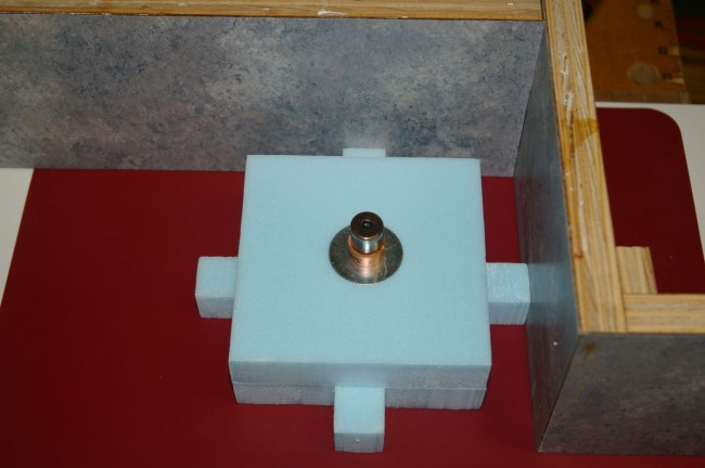 Concrete Fountain Top Feature - Foam Cavity