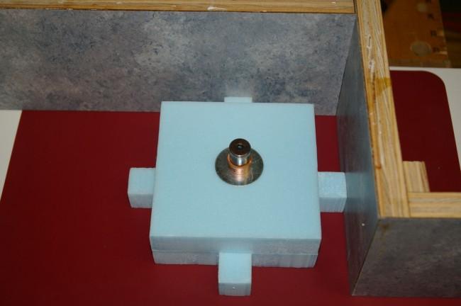 Concrete Fountain Top Feature - Foam Cavity