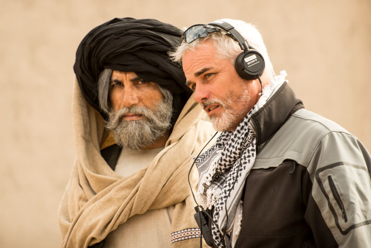 The Ghost (Niamatullah Arghandabi) and Capt. Pete Mitchell.