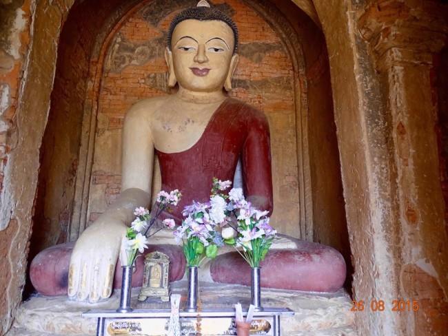 A Burmese style Buddha