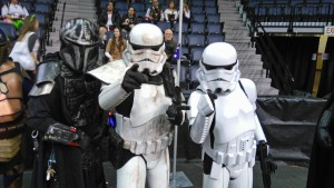 Star Wars Stormtroopers at Hal-Con 2015
