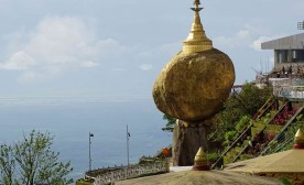 The Golden Rock Pagoda: It Flirts with a Fall That Never Comes