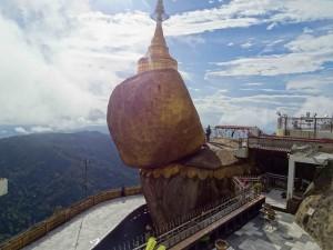 The Golden Rock Pagoda