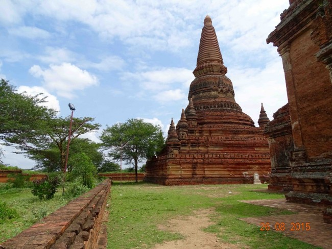There are thousands of stupas like these