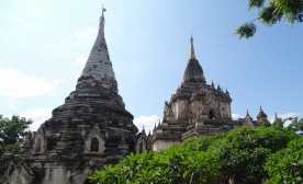 Two temples clustered close together