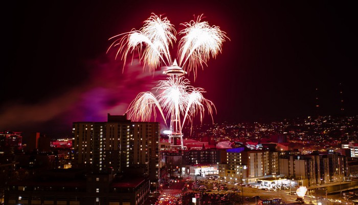 Seattle New Year's Eve 2011