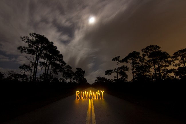 Light Painting - Runaway @ Jason D. Page