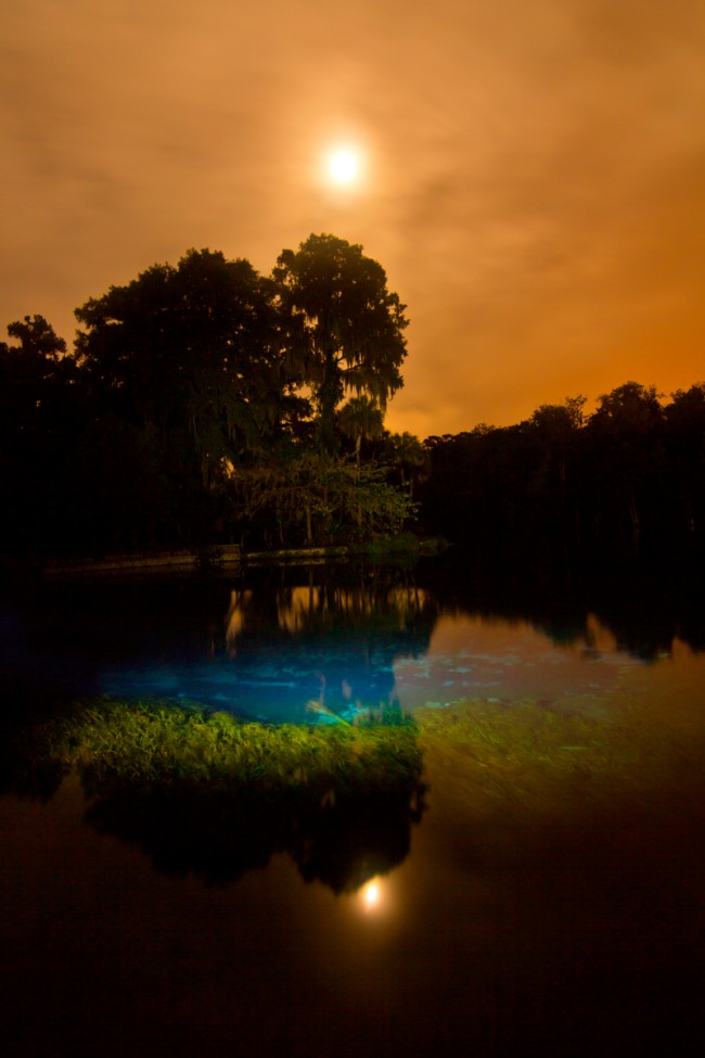 Light Painting - Silver Springs  @ Jason D. Page