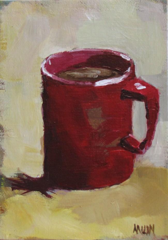 """""""Little Red Mug""""  @ Kim Milan"""