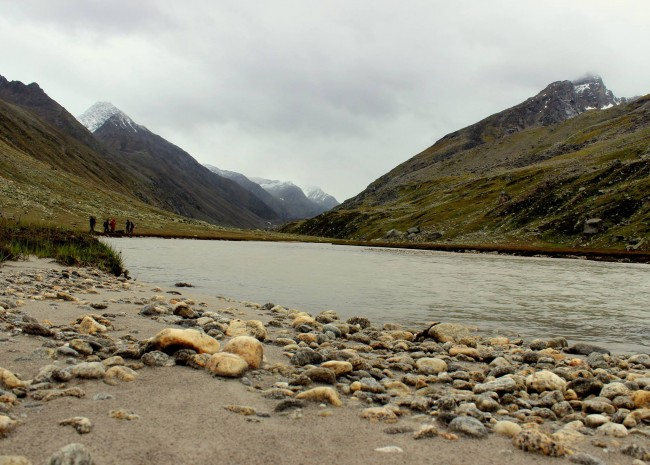 4.Near Oldi Thatch. A days trek from here, and the river starts to show the first signs of widening up.