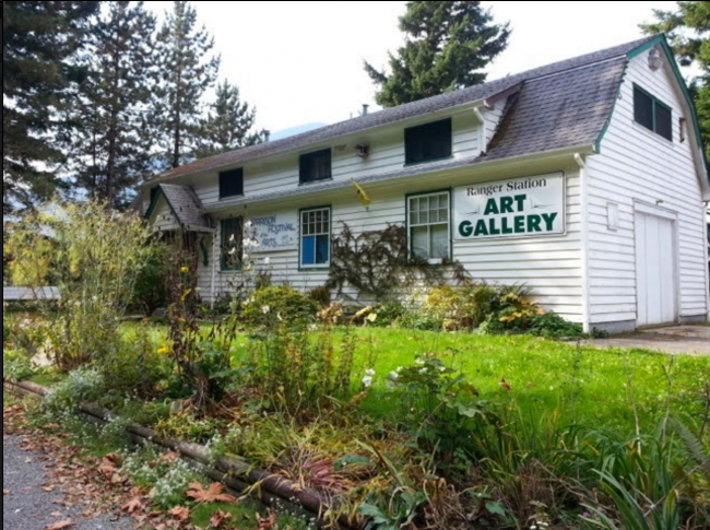 Ranger Station by the Kent Harrison Arts Council, Harrison Hot Springs BC in 2014.