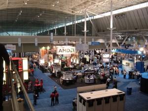 LinuxWorld trade show
