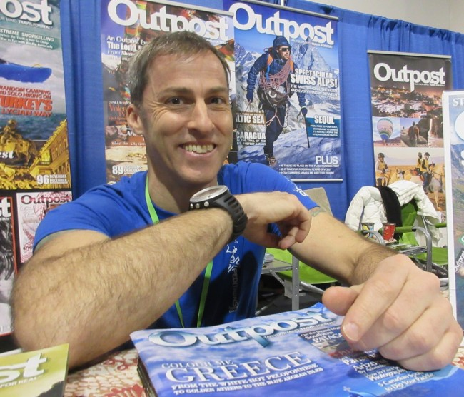 Outpost Magazine at Outdoor Adventure Show