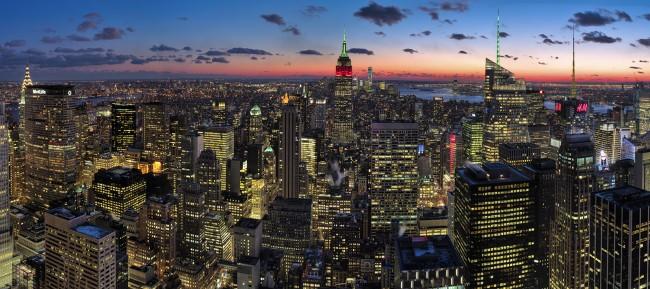 New York Skyline © Neil Dankoff