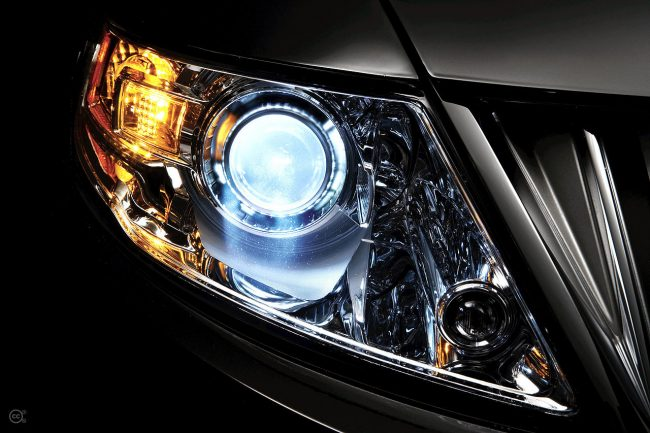 2009 Lincoln MKS: Adaptive Headlamps with Standard High-Intensity Discharge (HID) Lamps