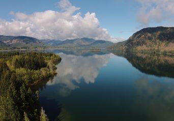 Mesachie Lake in April