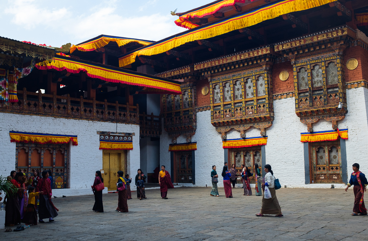 A Brief Introduction Into Bhutanese Fortress – LIFE AS A HUMAN
