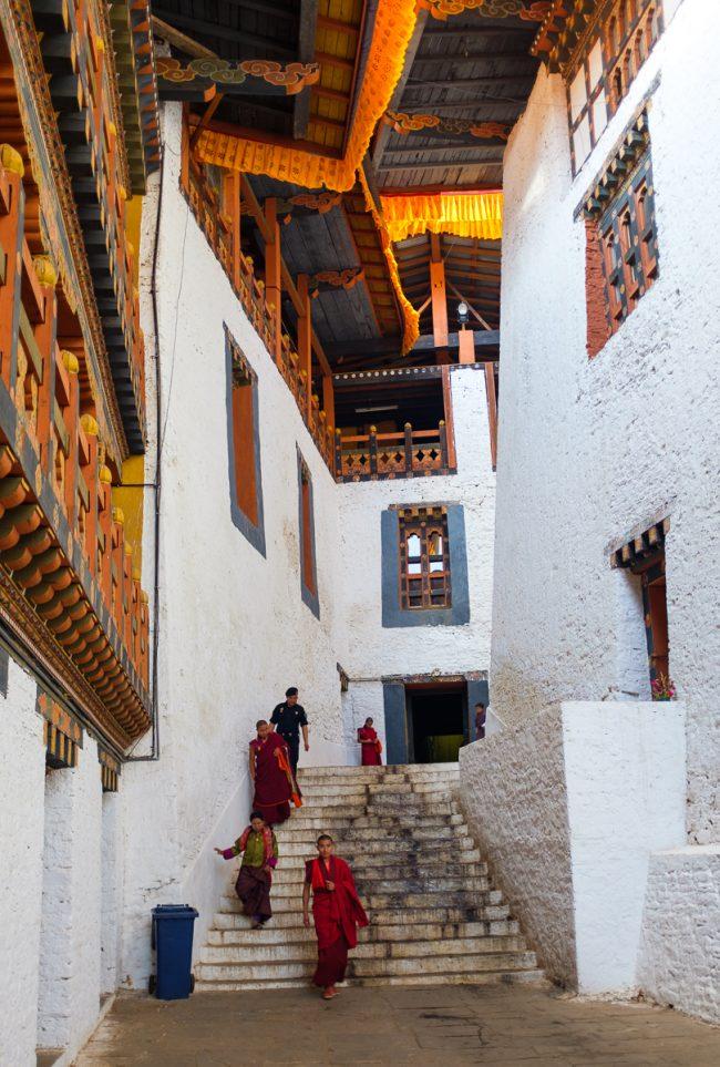 Alleys Inside the Dzong © Tommi Myllymäki