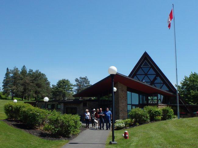 The Alexander Graham Bell National Historic Site in Baddeck, Nova Scotia.