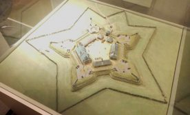 Model of the pentagonal Fort Beausejour/Cumberland