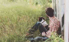 The Story of Depression, Struggle, and Befriending a Dog