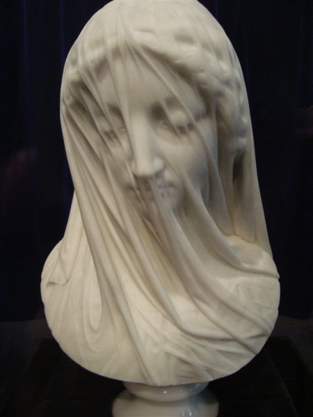 Marble Masterpiece: Veiled Virgin
