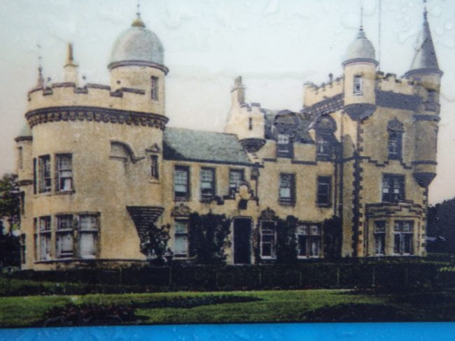 Feddal Castle, before its demolition in 1958.