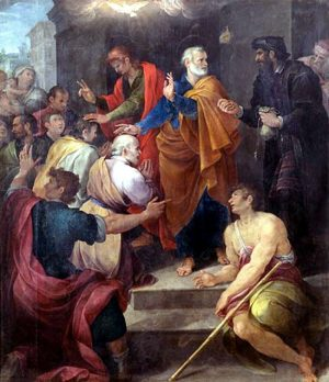 Peter's Dispute with Simon Magus