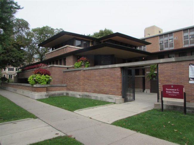 Robie House at University of Chicago