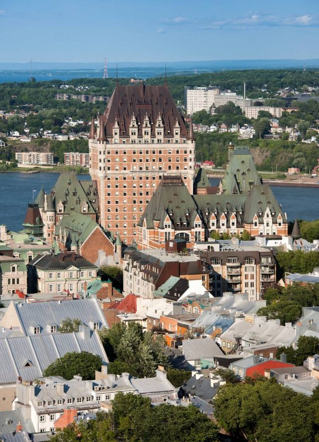 The Chateau Frontenac is arguably the grandest of Canada's historic hotels