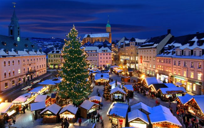 The Annaberg Christmas Market which features handmade gifts from Annaberg and neighbouring towns.