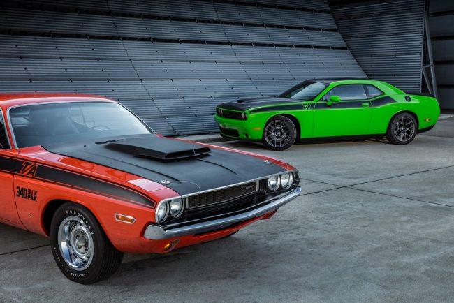 Old Versus New: Dodge Challenger T/A