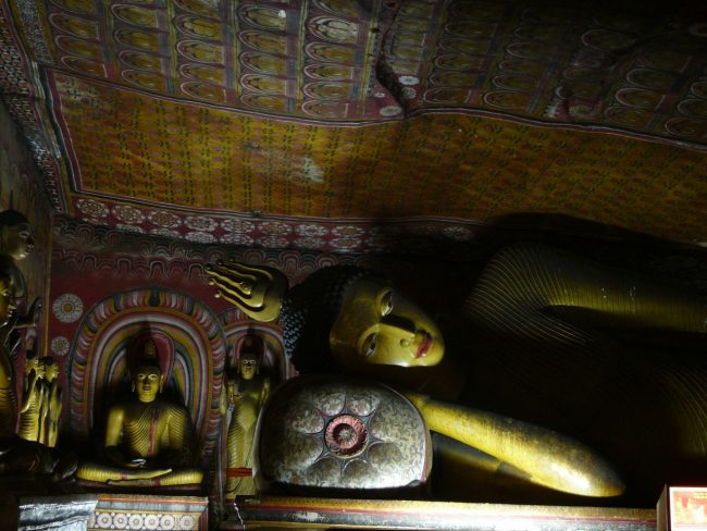 Dambulla - Reclining Buddha