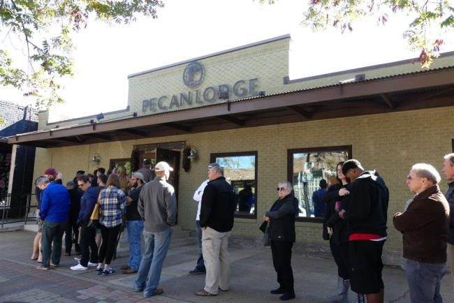 Pecan Lodge. The daily lineup.