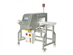 The RAPICON metal detector conveyor system