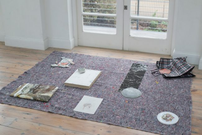Sarah Longworth-West – Painting Floor Assemblage