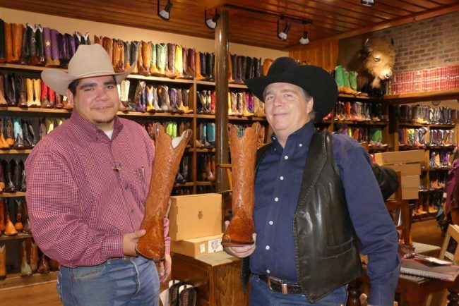 Texas Boot Salesmen