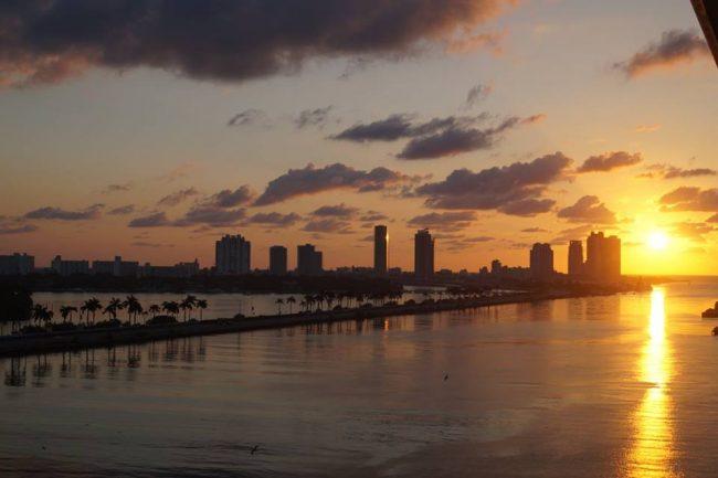 Miami horizon!