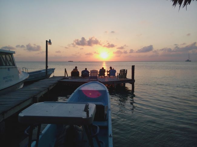Caye Jetty