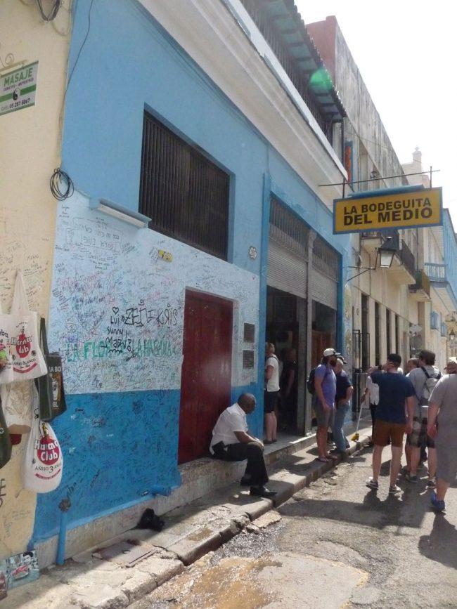 A Cuban Rum Bar